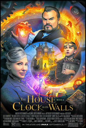 house-with-clock-poster